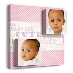 Precious Girl - nursery wall decor