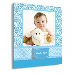 baby wall decor - Pretty in Blue