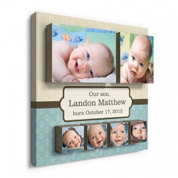 baby wall decor - Classic Cutie Boy