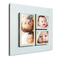 baby wall decor - Simple Zig Zag