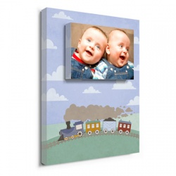 nursery wall decor - Choo Choo Trains