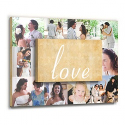wedding art wall decor - Love Collage