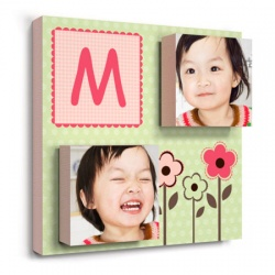 Girl - nursery wall decor