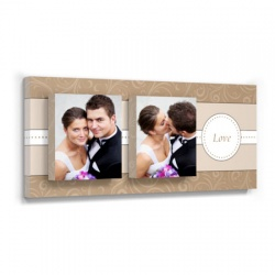 Love Duo-wedding art wall decor