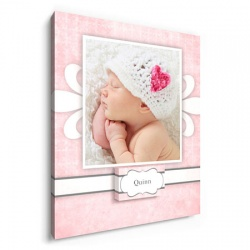 Pink Fancy Fleur - nursery wall decor