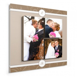 wedding art wall decor - Initial Perfection