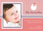 Photo Adoption Announcements - Special Bibs & Babies