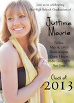 Graduation Invitations - Onyx High School Grad