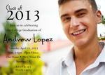 Graduation Invitations - Bright Grad