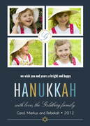 Hanukkah Happy - Hanukkah photo cards