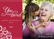 Lacey Hearts - Valentine Photo Cards
