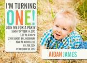 Birthday Invitations for Boys - Big One Fun
