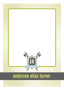 Birthday Thank You Cards - Coat of Arms