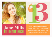 graduation reception invites - Celebrate Her