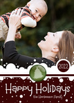 Snow Days -  Babys First Christmas Cards