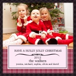 Holly & Jolly -  Babys First Christmas Cards