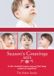 Ribbons of Love - Baby Christmas Cards