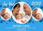 Joy Vey Birthday! -  Christmas Birth Announcement Cards