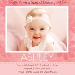 Special Daisy Dreams -  Adoption Announcement Cards