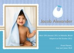 Special Lil' Boy's Bib -  Adoption Announcement Cards