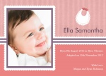 Special Bibs & Babies -  Adoption Announcement Cards