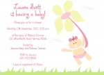 Flower Girl -  Baby Girl Shower Invites