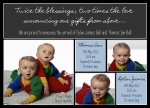 Double Dare -  Twin Birth Announcements