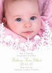 Wildflowers - Baby Girl Announcement Cards