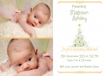 Holiday Baby -  Christmas Birth Announcement Cards