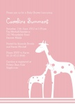 Mamas & Babies Pink - Baby Girl Shower Invitations