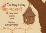 Tree House - Change of Address Cards