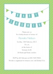 Baby's Regatta - Neutral Baby Shower Invitations	