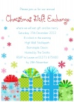 Gift & Be Merry! - Christmas Party Invitations