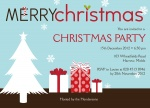 Blue Christmas - Christmas Party Invitations