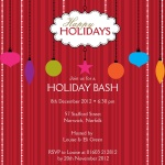 Deck the Halls - Christmas Party Invitations