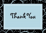 Blue Gumdrop - Thank You Cards for Men