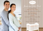 Family Crib - Couples Baby Shower Invitations