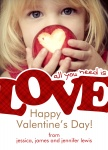Real Big Love -  Valentines Day Cards