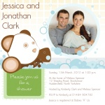 Ma & Da Bear - 	Baby Shower Invitations for Couples