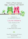 Hoo's Expecting? - Neutral Baby Shower Invitations	