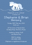 Family Rocking Horse - 	Baby Shower Invitations for Couples