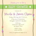 Parents-to-Be - Couples Baby Shower Invitations