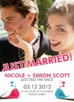 Sweet Songbirds-Share your nuptial news with beautiful Wedding Announcements from Simply to Impress! Choose from our wide variety of designs today.