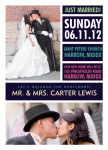 Urban Chic-Share your nuptial news with beautiful Wedding Announcements from Simply to Impress! Choose from our wide variety of designs today.
