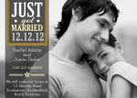 Share your nuptial news with beautiful Wedding Announcements from Simply to Impress! Choose from our wide variety of designs today.  - Silver Bands