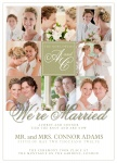 Share your nuptial news with beautiful Wedding Announcements from Simply to Impress! Choose from our wide variety of designs today.  - Couple Collage