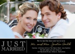 Share your nuptial news with beautiful Wedding Announcements from Simply to Impress! Choose from our wide variety of designs today.  - Just Married