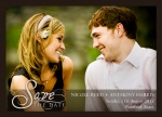 Just Love Date -  Save the Date Cards for Wedding