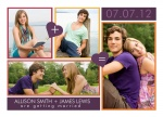 Love Equals Date - Save the Date Cards