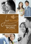 Share your nuptial news with beautiful Wedding Announcements from Simply to Impress! Choose from our wide variety of designs today.  - Sweetheart